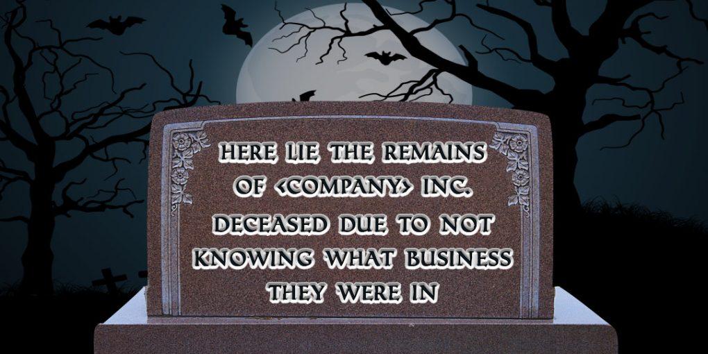 Company tombstone